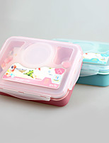 Yooyee Hot Selling Leakproof Bento Lunch Box with 4-Compartment