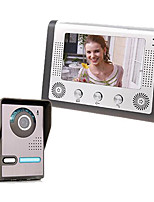 AC220V--50Hz DC15V 1.2A 7 Inch Visual Doorbell Household 801FA11
