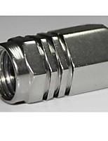 cubierta de la válvula de aire de color para neumáticos de automóviles