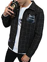 2016 new autumn thin coat young Korean Jacket Mens dress tide of young students