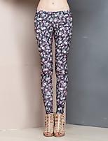 Heart Soul® Women's Mid Rise Slim Pink Casual Pants-24AA31388