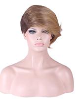 новый 2016 gigh класса парик в Европе и Америке женский волос наклонены три противотанковых высушенные листья и стебли индийской конопли