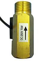Interruptor de alimentación de corriente alterna física instrumentos de medición de metal color amarillo material de