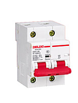 A Small Low Voltage Circuit Breaker Dz47-125 3P Air Switch Mccb