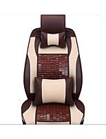 The New Leather Mahjong Mat Bamboo Car Cushion Carbide Selling Car Seat