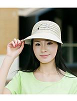 Women Cotton Blend Sun Hat,Casual All Seasons