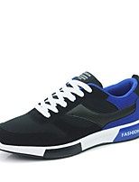 Men's Sneakers Spring / Summer / Fall / Winter Fabric / Tulle Athletic Flat Heel Black / Blue / Black and Red Sneaker