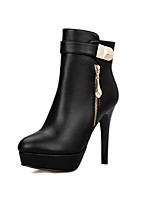 Women's Boots Fall / Winter Heels / Platform / Riding Boots / Fashion Boots / Bootie / Comfort  / Leatherette
