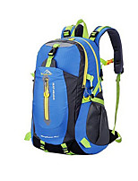36-55 L Hiking & Backpacking Pack Camping & Hiking / Climbing Outdoor Waterproof / Wearable Green / Blue Oxford YiNan