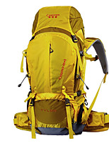 50L L Pacotes de Mochilas / Mochilas de Escalada / mochila Acampar e Caminhar / Montanhismo / Viajar Ao ar LivreÁ Prova-de-Água /