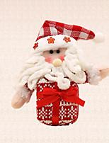 1pc Feliz decoración del árbol de navidad de regalo de Santa Claus árbol encanto colgando colgante para los niños presentes