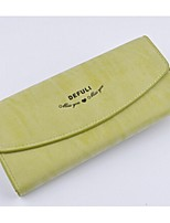 Women PU Casual Evening Bag / Wallet / Checkbook Wallet
