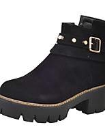 Women's Boots Fall / Winter Platform Leatherette Outdoor / Office & Career / Athletic  / Yellow / Gray