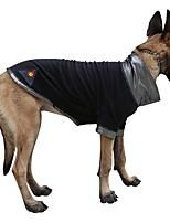 Katzen / Hunde Kostüme / Mäntel Schwarz Hundekleidung Winter / Frühling/Herbst Klassisch / einfarbig / Weihnachten / Britsh / Halloween
