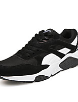 Men's Sneakers Spring / Summer / Fall / Winter Flats Tulle Athletic / Casual Flat Heel Lace-up Black / Gray Others