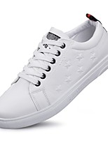 Men's Flats Spring / Fall Flats PU Casual Flat Heel Others White Others