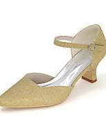 Women's Heels Spring / Summer / Fall Square Toe Glitter Wedding / Party & Evening
