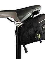 Bolsa para Guardabarro Impermeable / Listo para vestir / Multifuncional / A Prueba de Golpes Ciclismo Poliéster 1680D Negro Roswheel