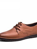 2016 New Men's Shoes Genuine Leather Oxford Office Shoes For Men High Quality Men's Dress Italian Leather Shoes Formal