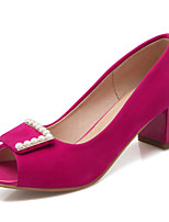Women's Sandals Spring / Summer / Fall Heels / Peep Toe / Styles / Party & Evening / Dress / Casual Chunky Heel