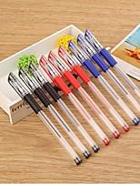 Ручка Гелевые ручки,Пластик Красный / Черный / Синий