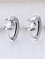 High end S925 Silver Angel kiss Earrings