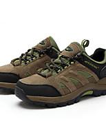 Dames Sneakers Lente / Herfst Comfortabel / Ronde neus Tule Buiten Platte hak Veters Bruin / Groen Trektochten