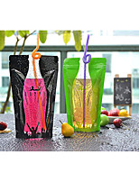 Beverage Packaging Bag Upgrade 12*20cm 350ml Thick Sealing Fashion