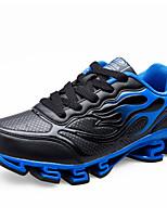 Unisex-Sneaker-Lässig-PU-Flacher Absatz-Komfort-Schwarz / Blau / Rot / Grau