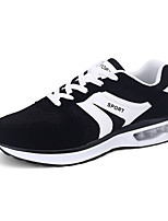 Men's Sneakers Spring / Fall Comfort Tulle Outdoor / Office & Career / Casual Flat Heel  Blue / Yellow