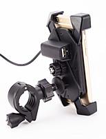12V Motorcycle Handlebar Universal 3.5-7' Cell Phone Holder