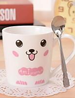 cerámica Juego de tazas de café leche parejas taza