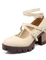 Women's Shoes Spring / Summer / Fall / Winter Heels / Platform / Round Toe Heels Office & Career / Dress / Casual Chunky