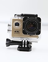 Sports Camera 4K  WIFI Waterproof Action Camera High Defenition 2.0 Inch Sports DV 360 Degree Sport Camera Gold