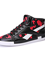 Men's Shoes Casual/Travel/Outdoor Fashion Sneakers White/Black/Red