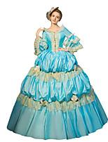 Steampunk®Georgian Victorian Princess Vintage Dress Ball Gown Reenactment Halloween Costume