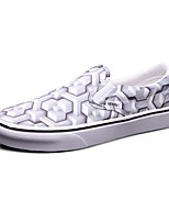 Vans Classics Slip On Men's Shoes Canvas Outdoor / Athletic / Casual Sneakers Grey