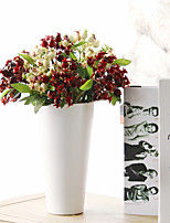 Hi-Q 1Pc Decorative Flower Pomegranate Fruit Wedding Home Table Decoration Artificial Flowers