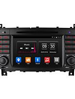 7 owniceアンドロイド4.4 GPSラジオ付きmwrcedes・ベンツCクラスW203 CLKはW209 1024 * 600のための「16グラムロムクアッドコアカーDVDプレーヤー