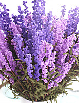 1PC  Household Artificial Flowers Sitting Room Adornment  Flowers  Polyester Lavender Artificial Flowers