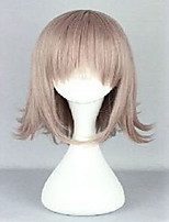 Newest Fashion Cute Girl's Blonde Long Straight Full  Bangs BOBO Style Hair Wig Cosplay Wigs Blond Wig