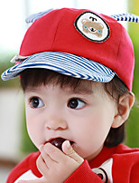 Kid's Cute Bear Baseball Caps(6-18Month),Red/Pink/Blue/Yellow