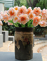 1 1 Филиал Полиэстер / Пластик Другое Букеты на стол Искусственные Цветы 21.25Inch/54cm