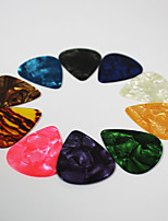 10 Pcs Plastic Electric Guitar picks
