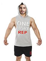 Running Tops / Vest / Hoodie / Shirt / Sweatshirt / Tank Men's SleevelessBreathable /Sweat-wicking /Static-free