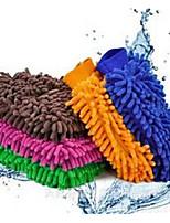 Car Wash Car Wash Gloves Car Cleaning Supplies Tools Wash Mitt Color Random