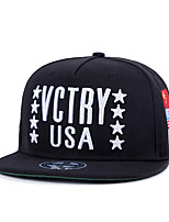 New Men Women Flags Letter Stars Embroidery Patchwork Hip Hop Baseball Caps