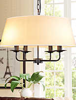 5 Pendant Light ,  Country Painting Feature for Mini Style Metal Living Room / Bedroom / Dining Room