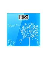 Electronic Weighing Scales Human Scale Hhealth Slim Square Square Body Scale (Sold Blue)
