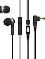 Diomix 215 Earphones with Universal Built-in Microphone Headphones for iPhone 6/6S Plus, iPad, Samsung, Nexus and more